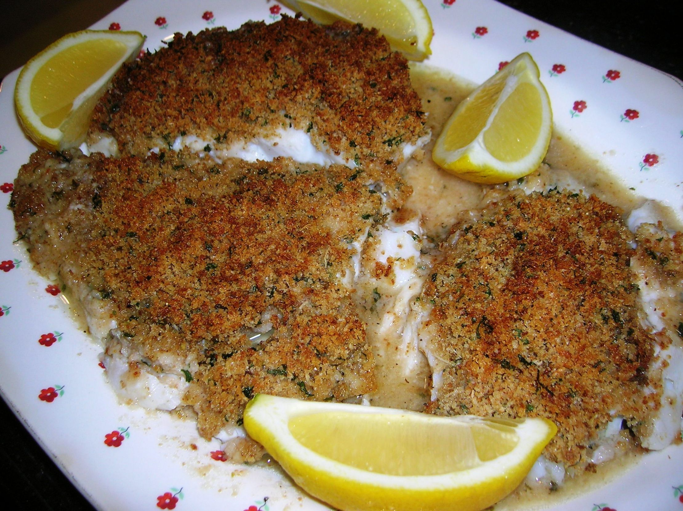 Fillet of Fish Oreganata (With images) | Easy fish recipes, Fish ...