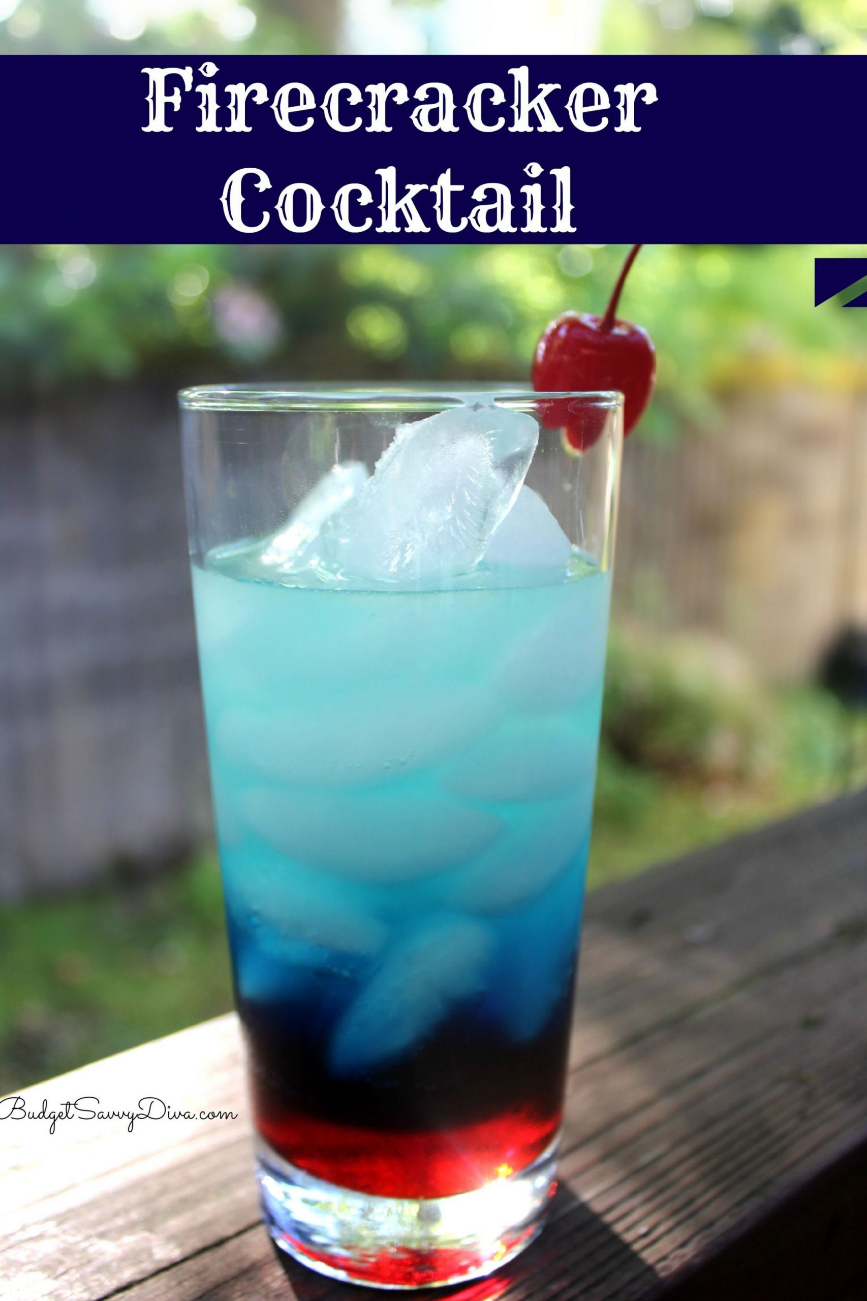 Firecracker Cocktail - Recipes Of Summer Drinks
