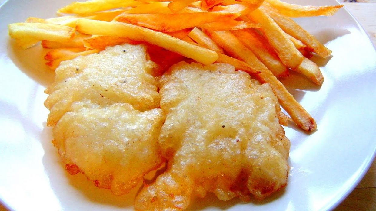 FISH & CHIPS crispy batter with Fizzy water How to make recipe - Recipe Fish Batter Without Beer