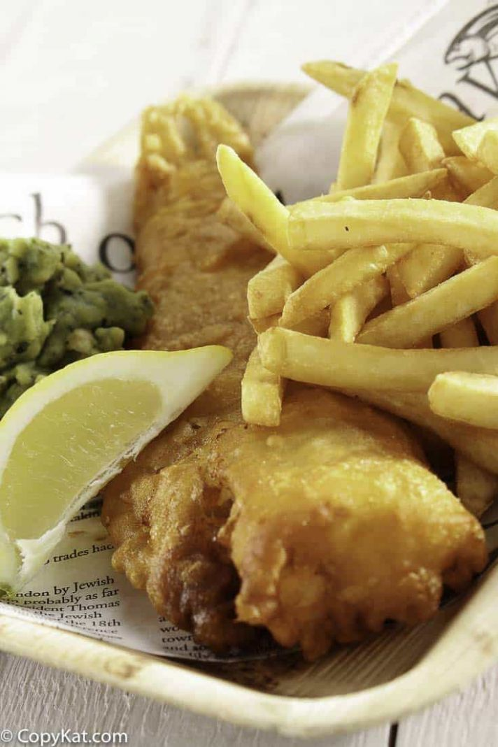 Fish and Chips in Beer Batter - Recipe Fish Fry Batter