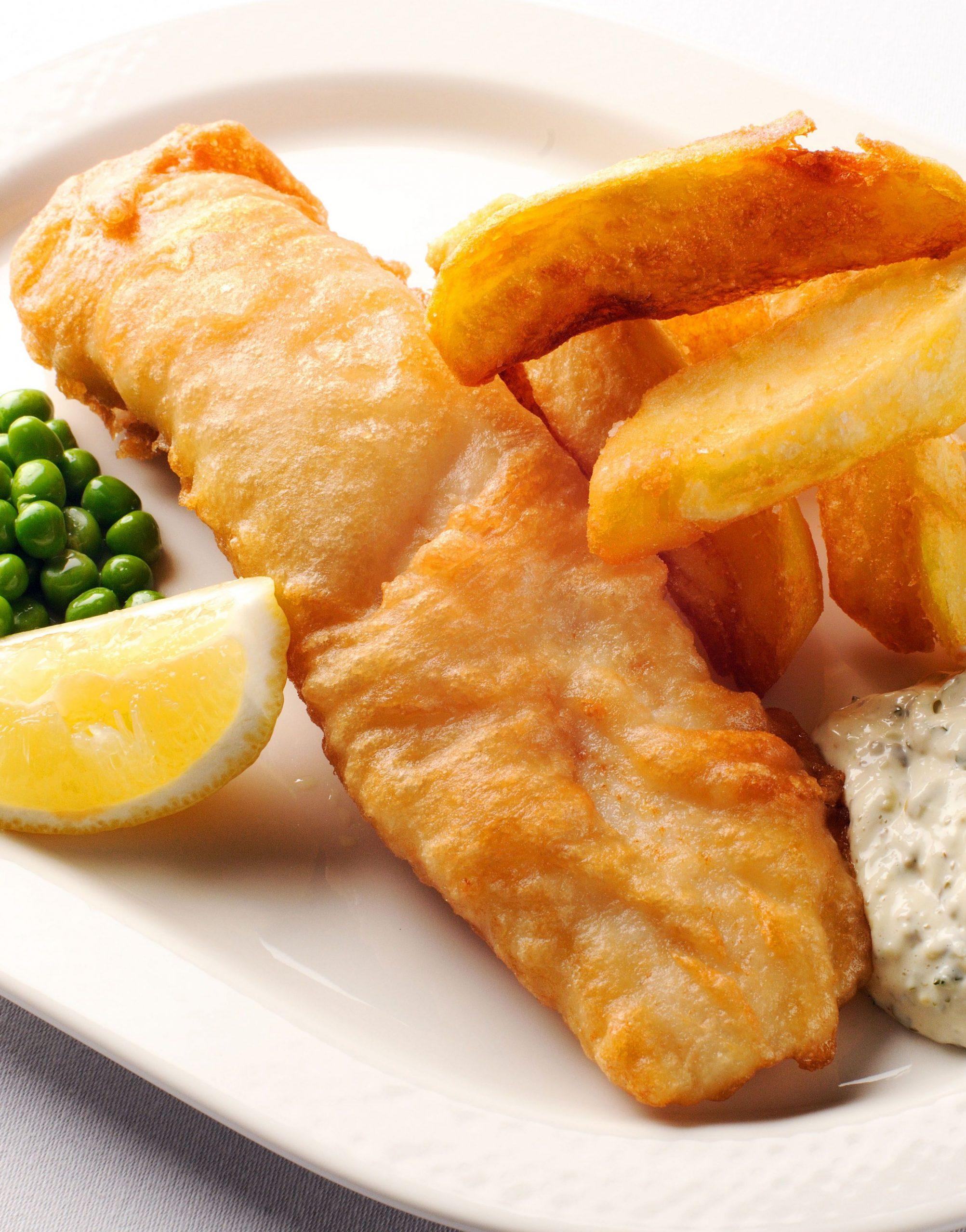 Fish and chips with tartare sauce - Recipe Fish N Chips