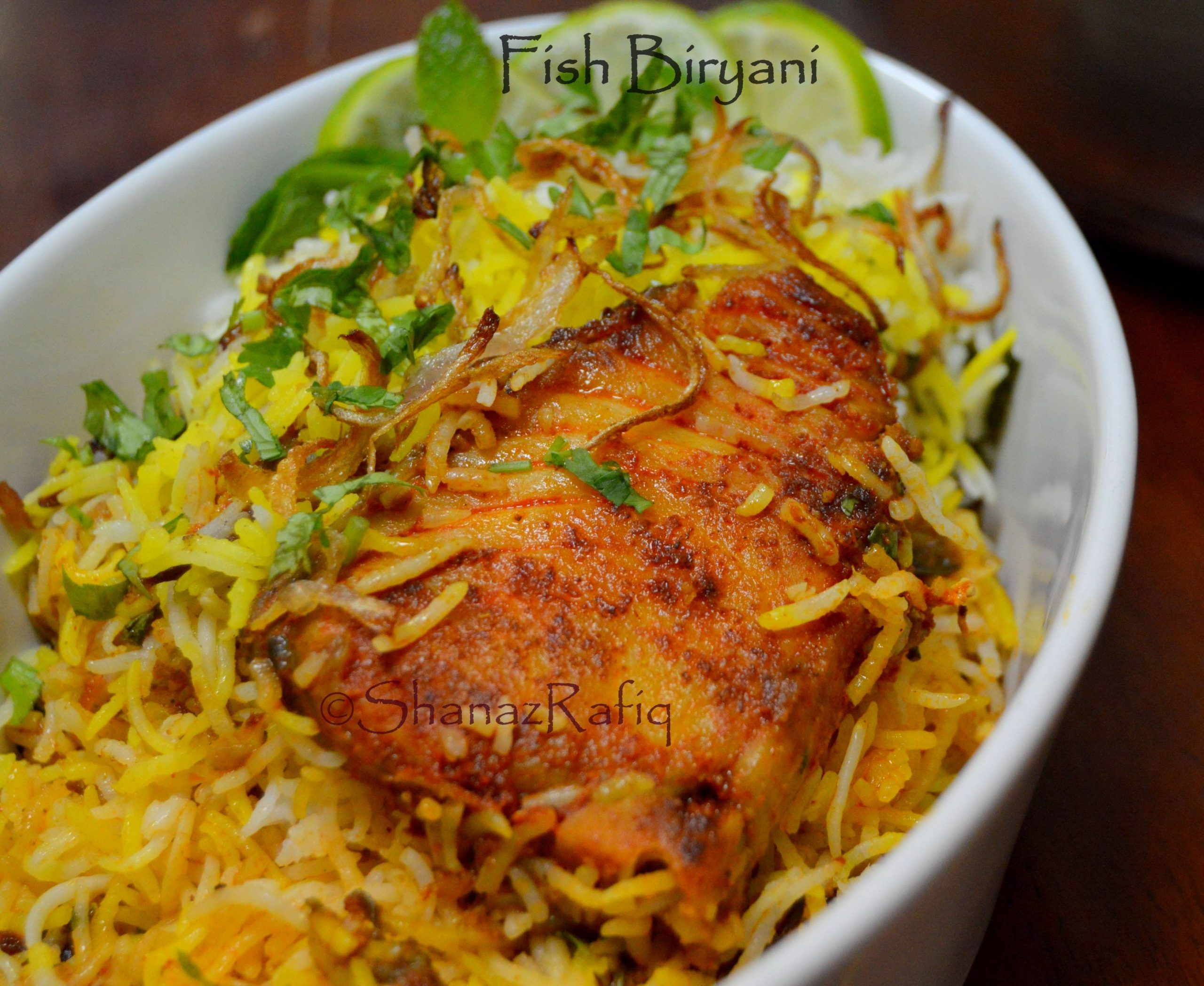Fish Biryani | Spicy King Fish Biryani