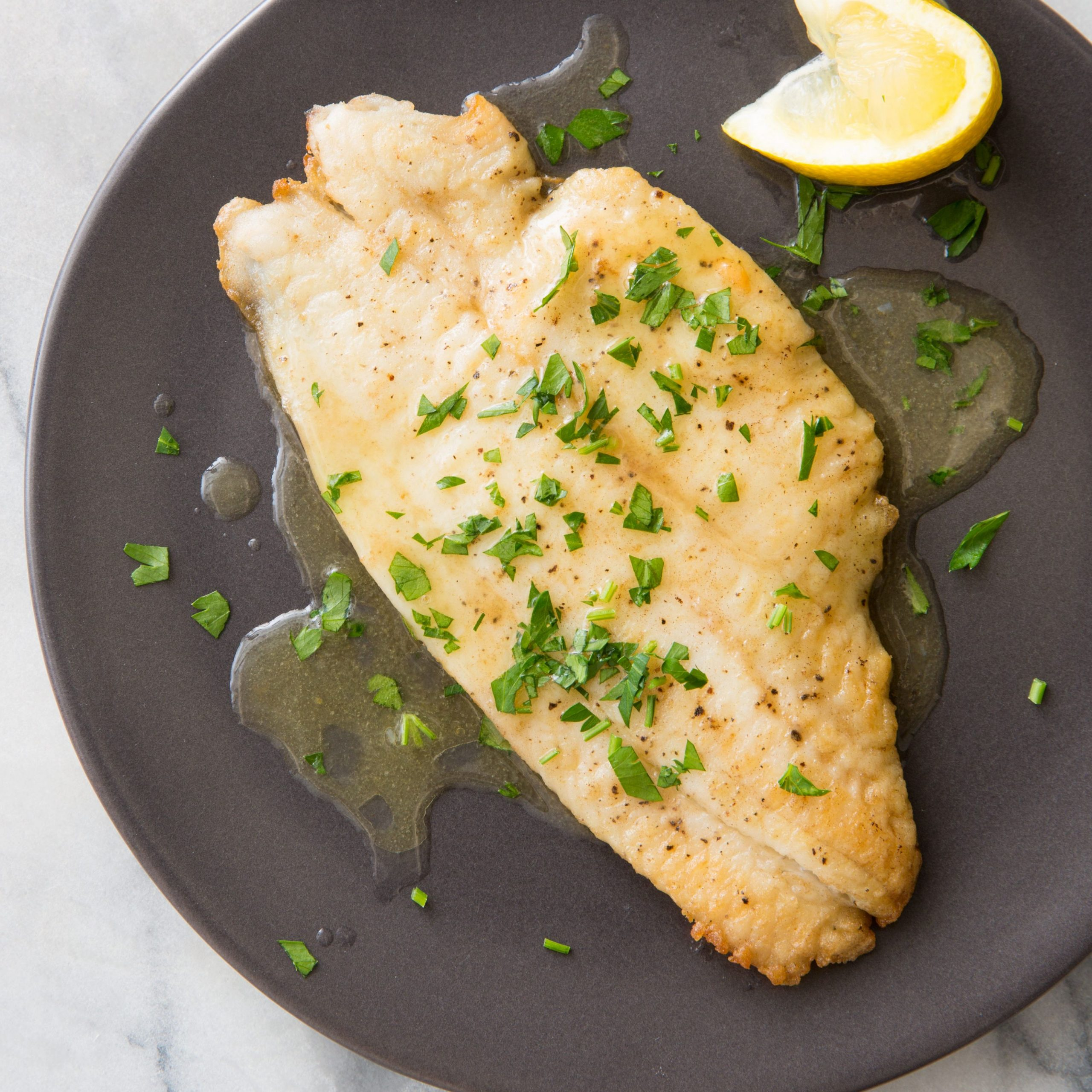 Fish Meuniere for Two - Recipe Fish Meuniere