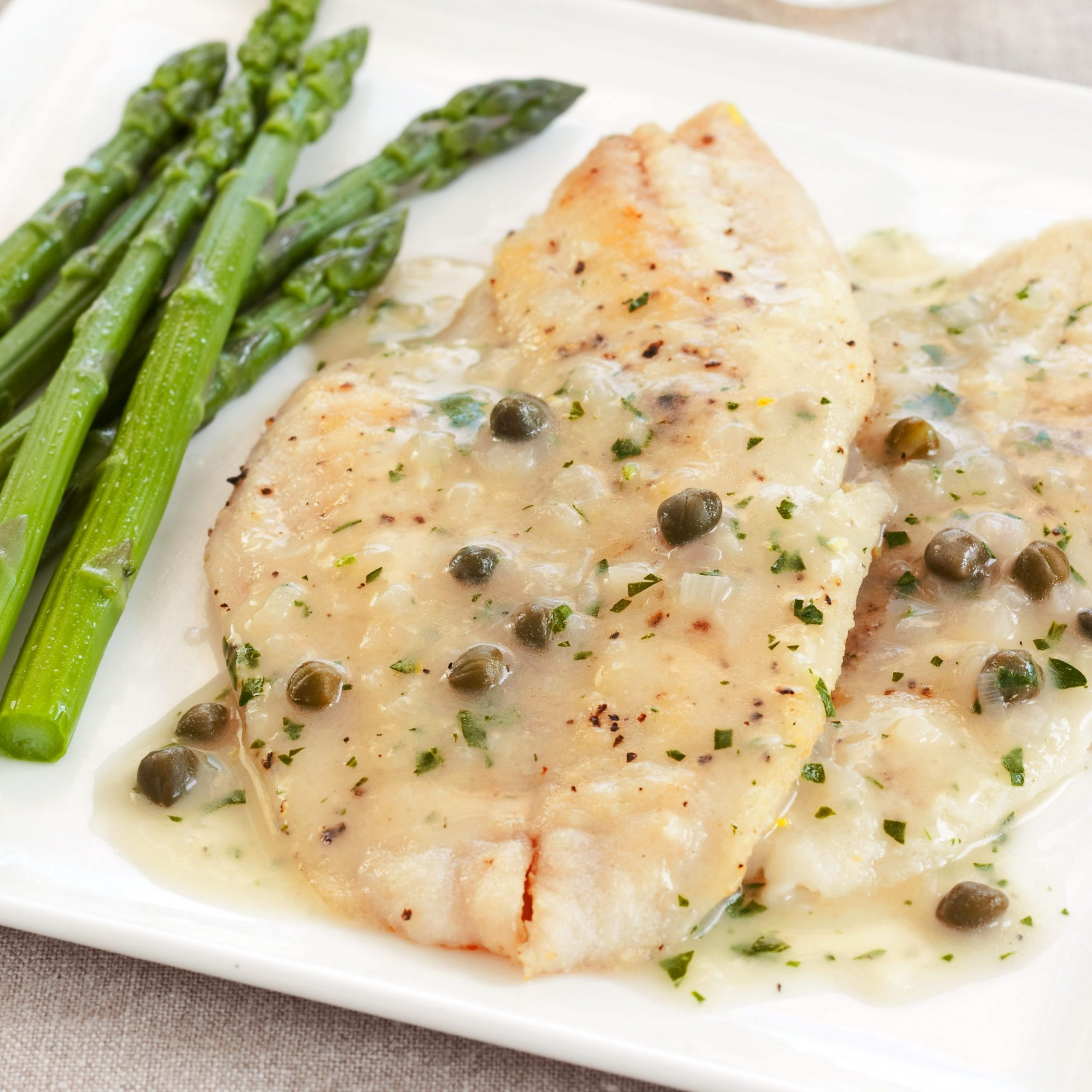 Fish Meuniere with Capers - Recipe Fish Meuniere