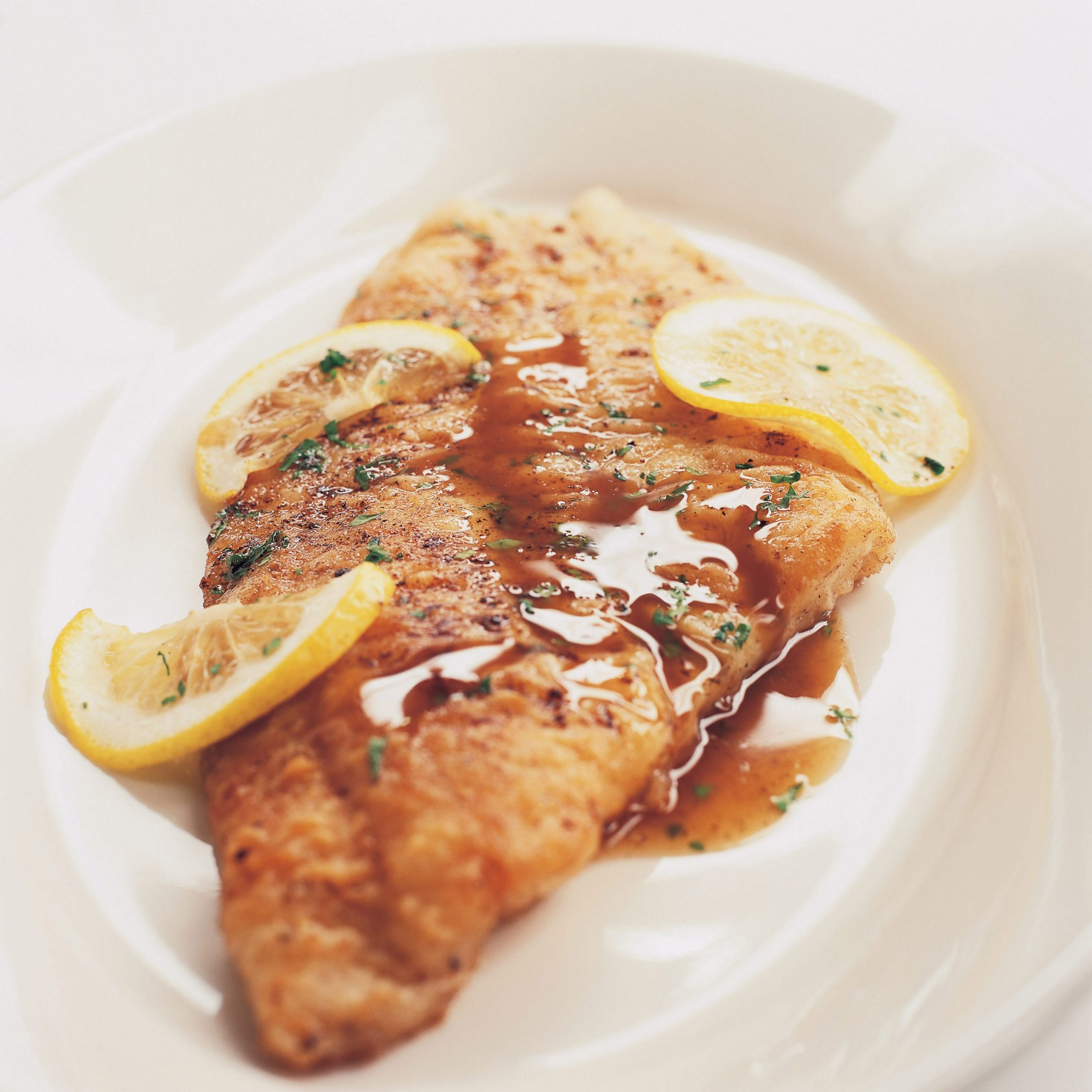 Fish Meuniere with Toasted Slivered Almonds - Recipe Fish Meuniere