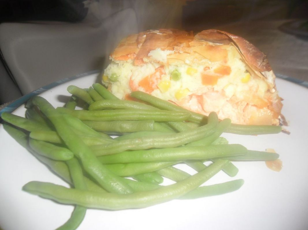 Fish Pie en Croute