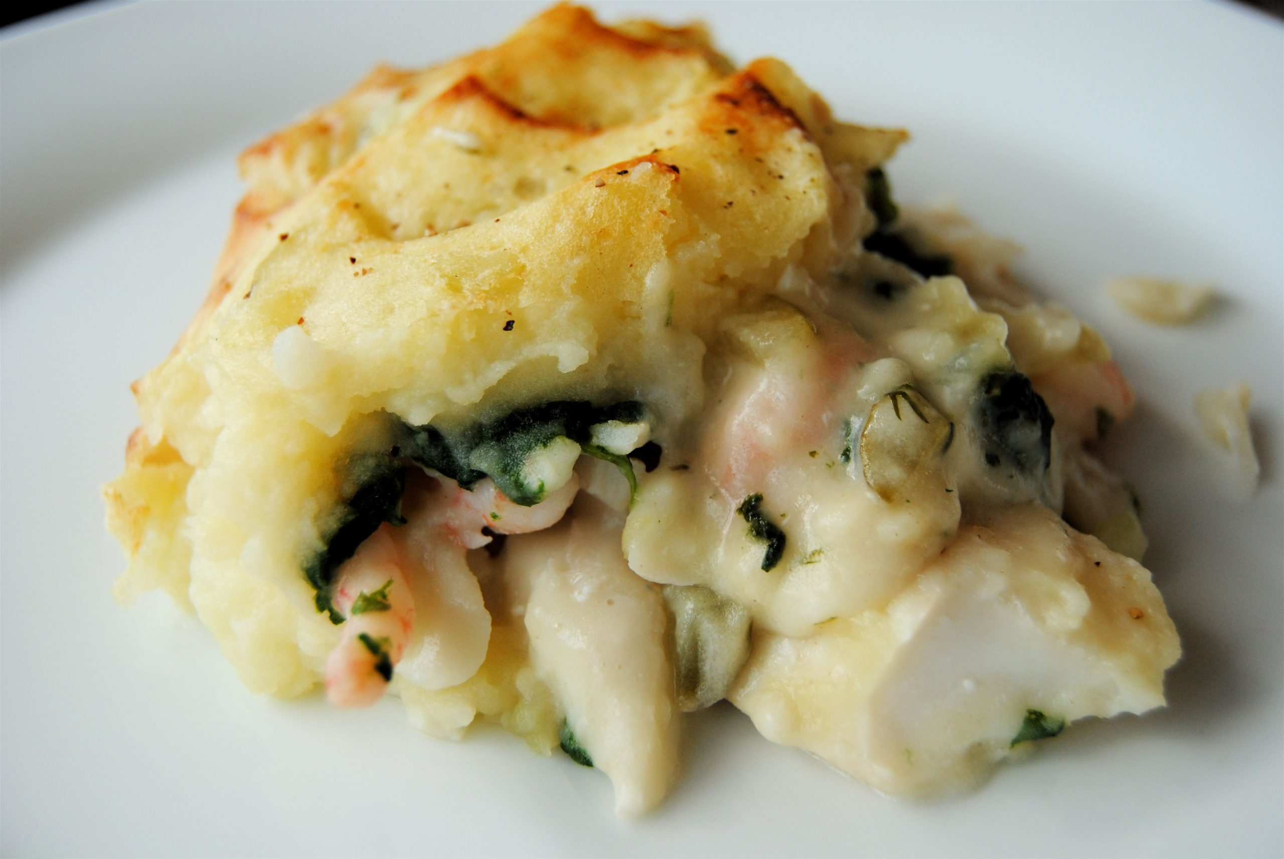 Fish Pie - healthily decadent comfort food - food to glow - Recipe Quick Fish Pie