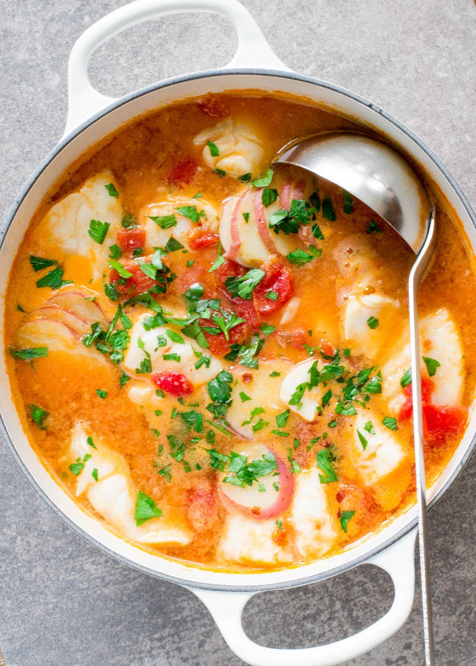 Fish Stew with Ginger and Tomatoes - Recipes Fish Casserole