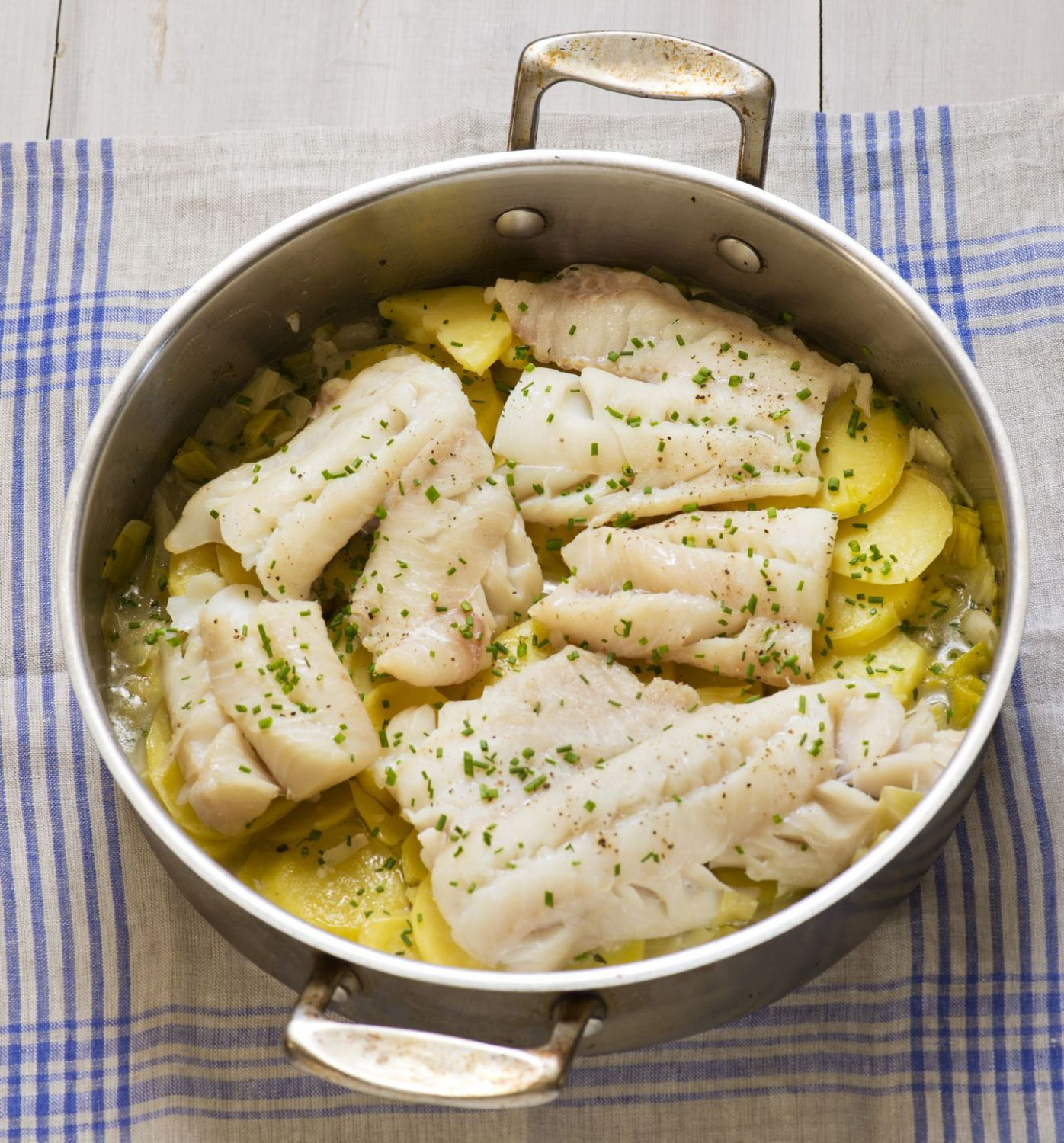 Fish with potatoes and leeks and more recipe ideas beyond fish and ..