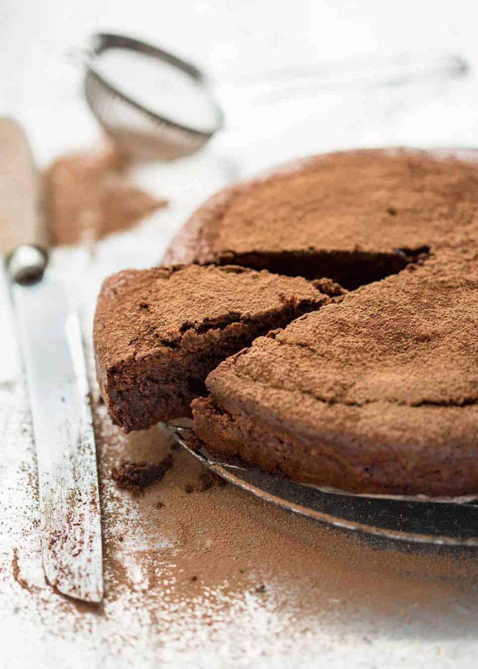 Flourless Chocolate Cake - Cake Recipes Almond Meal