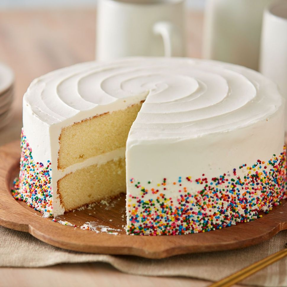 Fluffy Yellow Cake