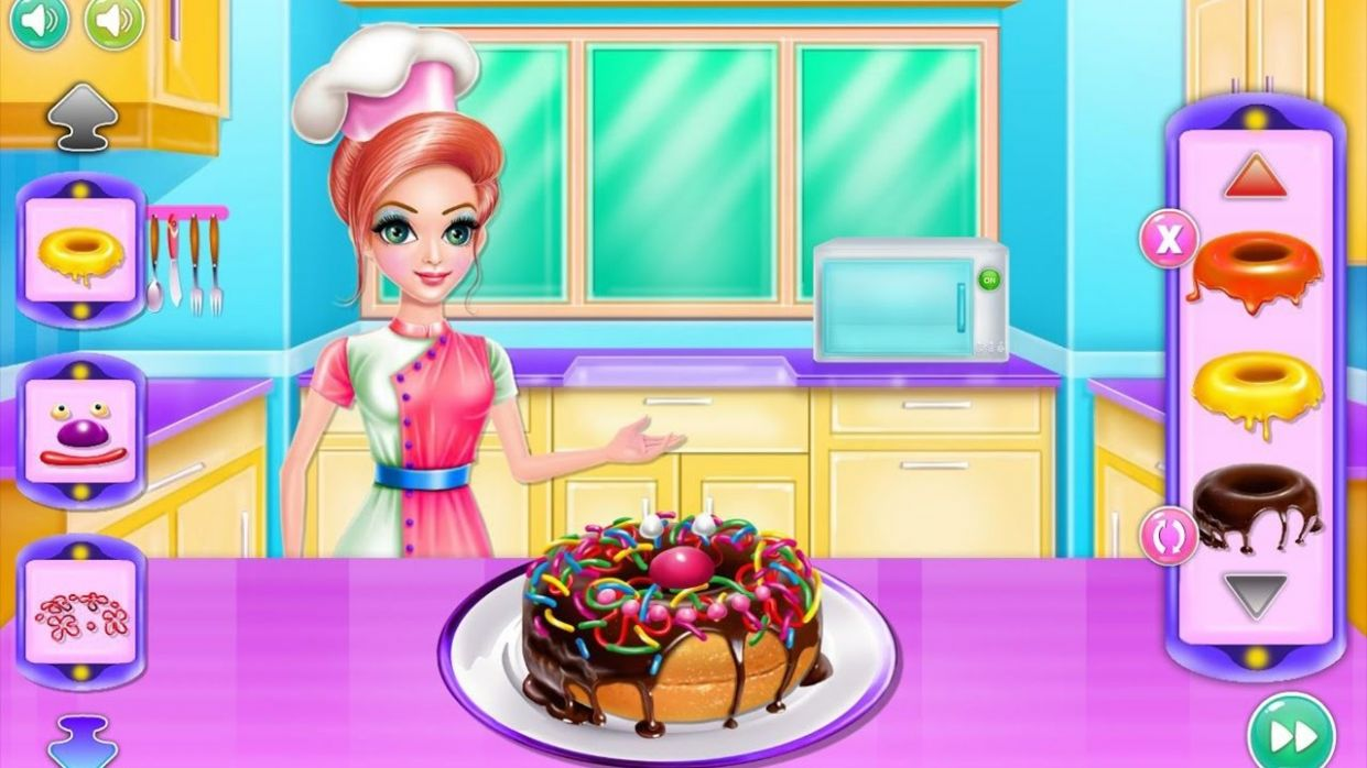 Food Maker Dessert Recipes, Cook Recipes, Cooking, Videos Games for Kids -  Baby Android Gameplay - Cake Recipes Game