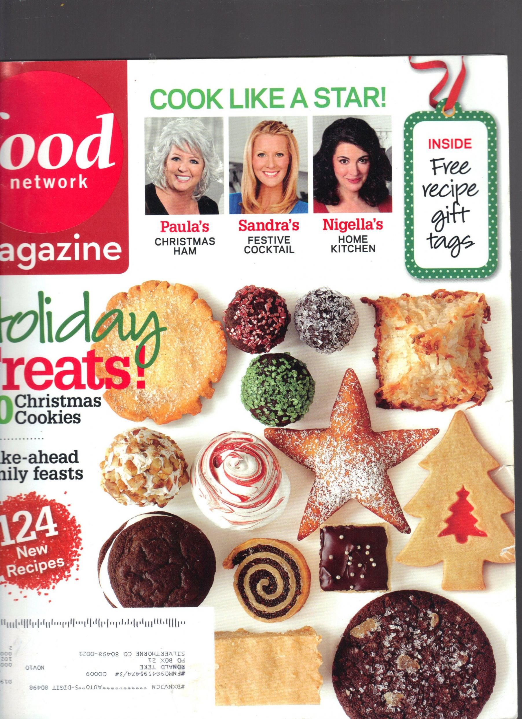 Food Network Magazine December 12 Cook Like A Star Make Ahead ...