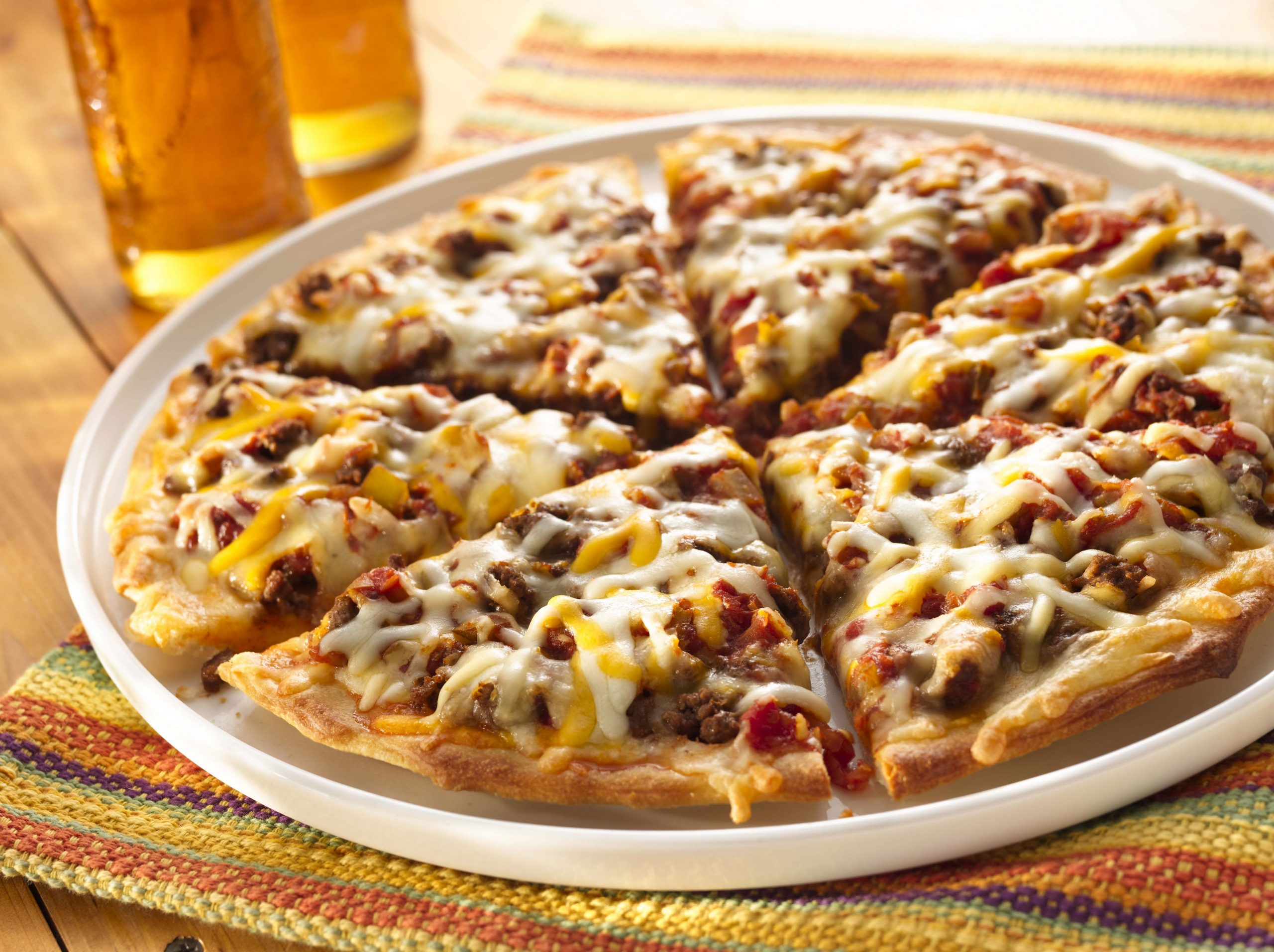 Four Cheese Mexican Pizza - Recipes Mexican Pizza