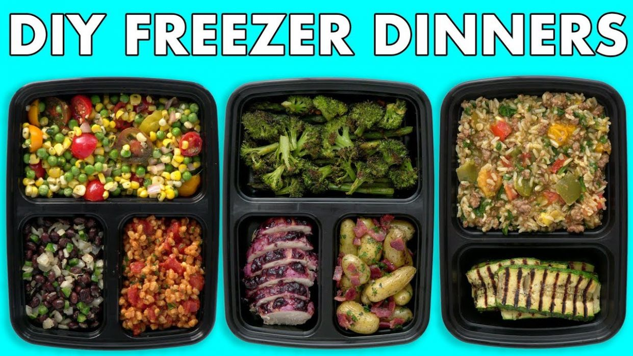 Freezer Meals! Healthy Meal Prep - Freezer Dinners! - Mind Over Munch - Vegetable Recipes You Can Freeze