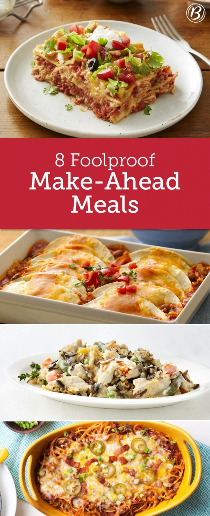 Freezer Meals You Can Make Ahead | Meals, Make ahead meals, Food ...