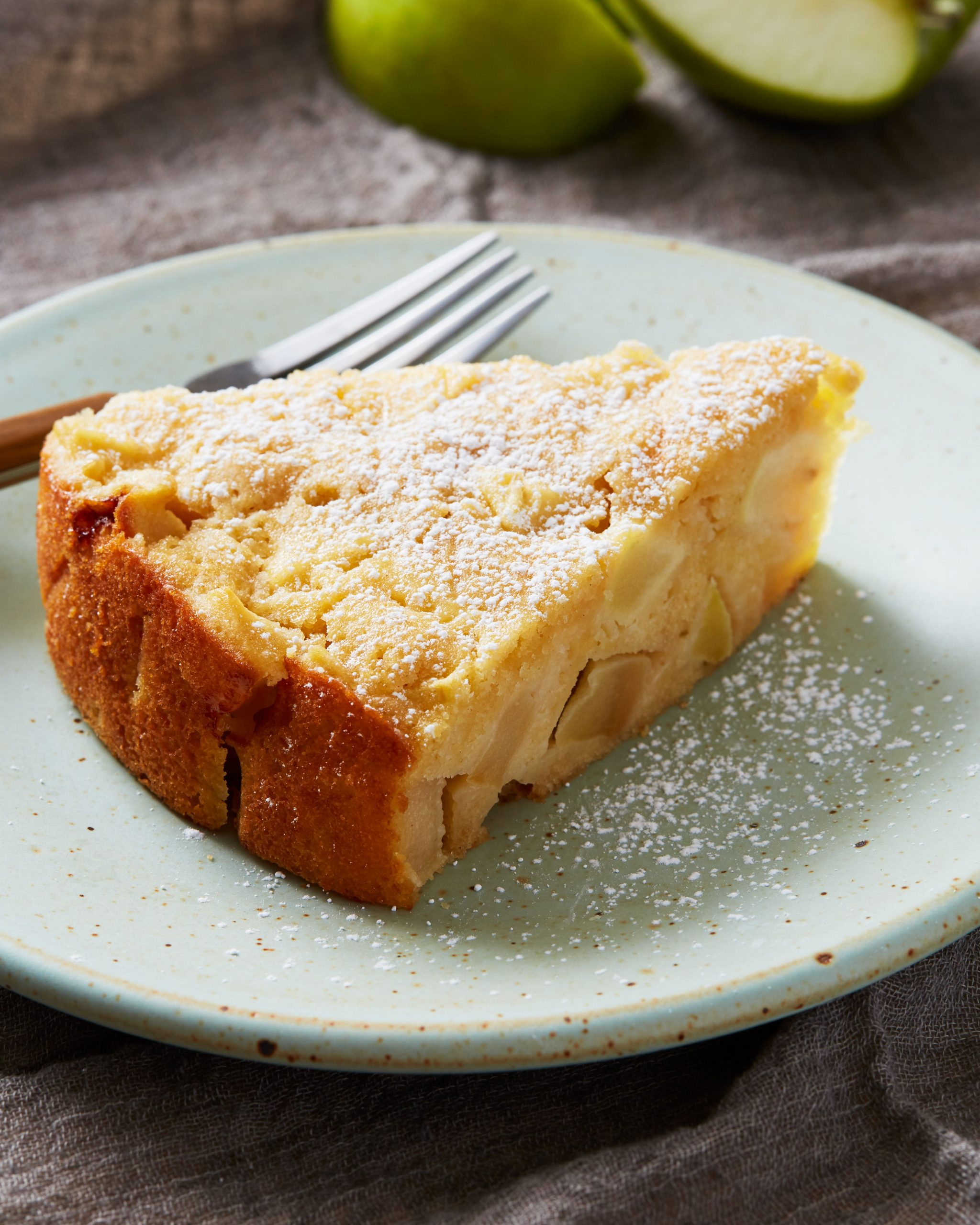 French Apple Cake - Dessert Recipes In French