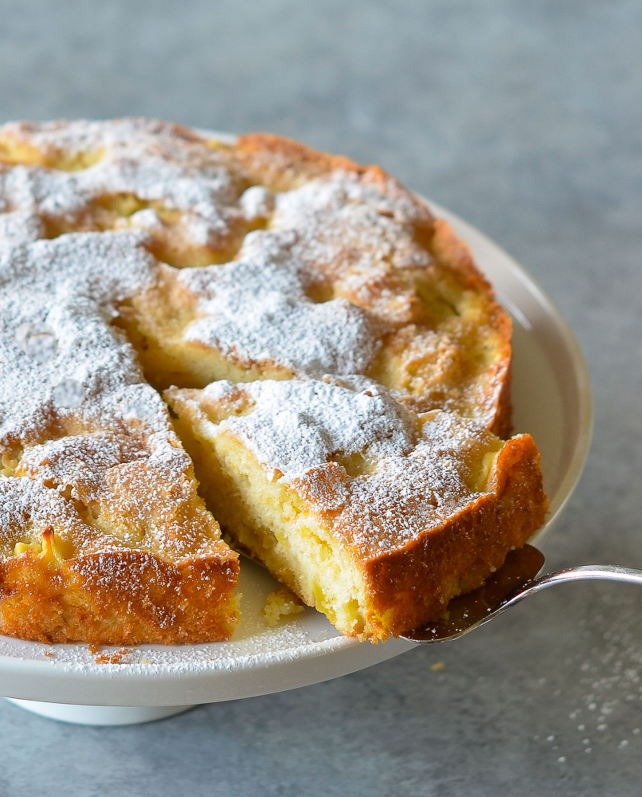 French Apple Cake - Recipes Using Cooking Apples Uk