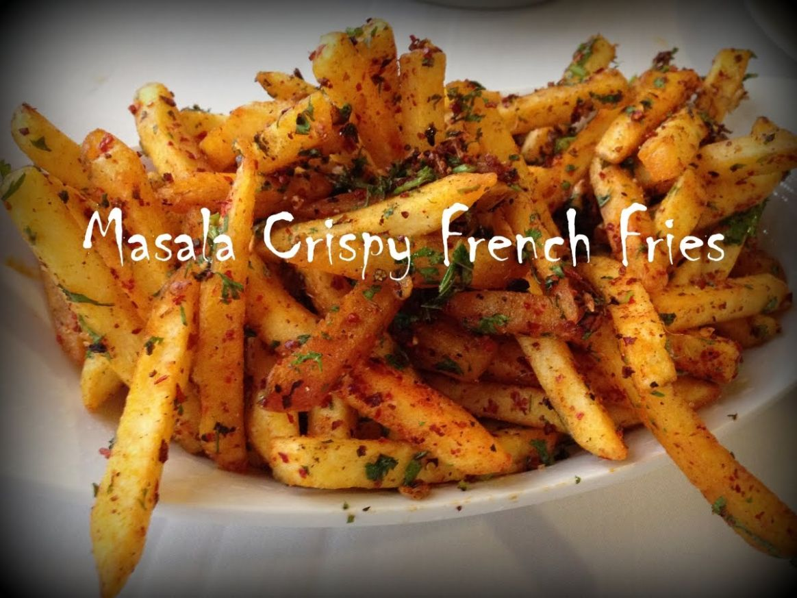 French Fries Recipe – Homemade Crispy French Fries Recipe ..