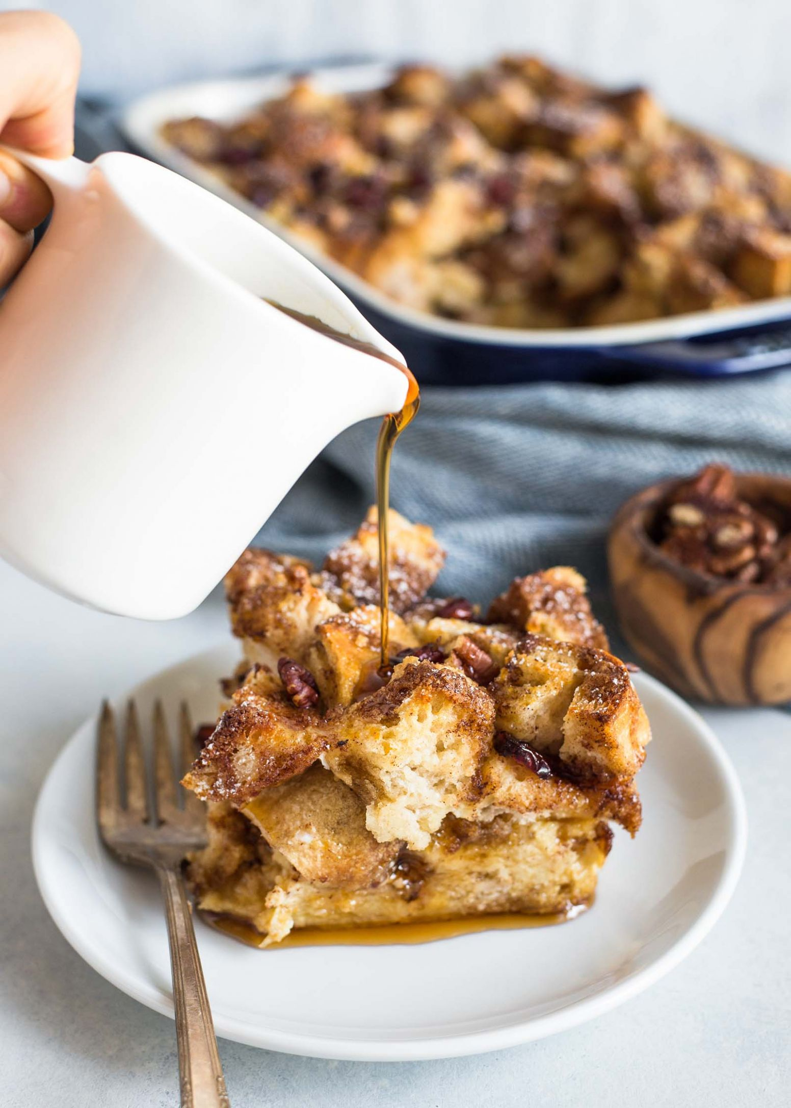 French Toast Casserole - Breakfast Recipes Overnight