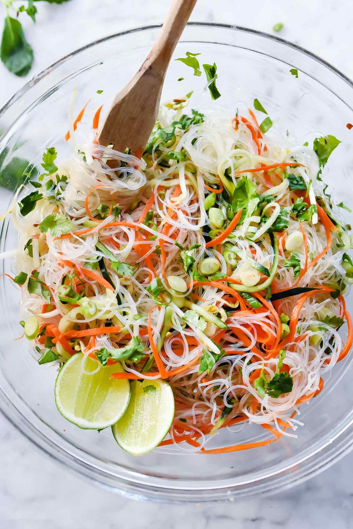 Fresh and Easy Vietnamese Noodle Salad - Recipes Rice Vermicelli Noodles