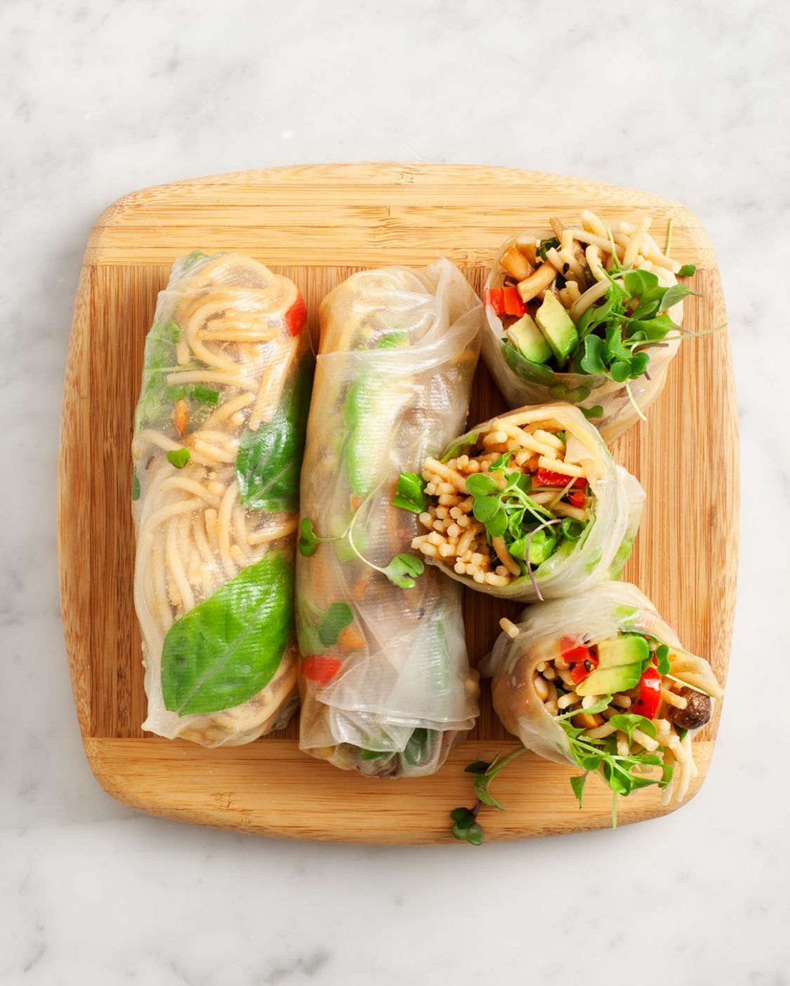 Fresh Spring Rolls - Recipes Rice Paper Wraps