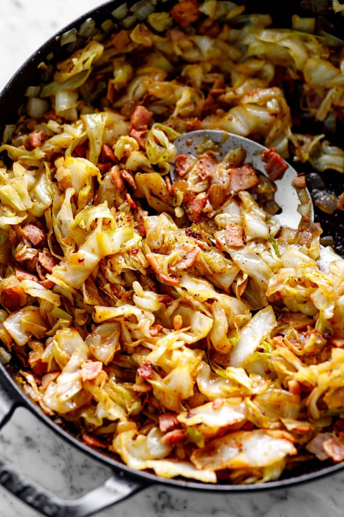 Fried Cabbage Recipe - Recipes Cooking Cabbage