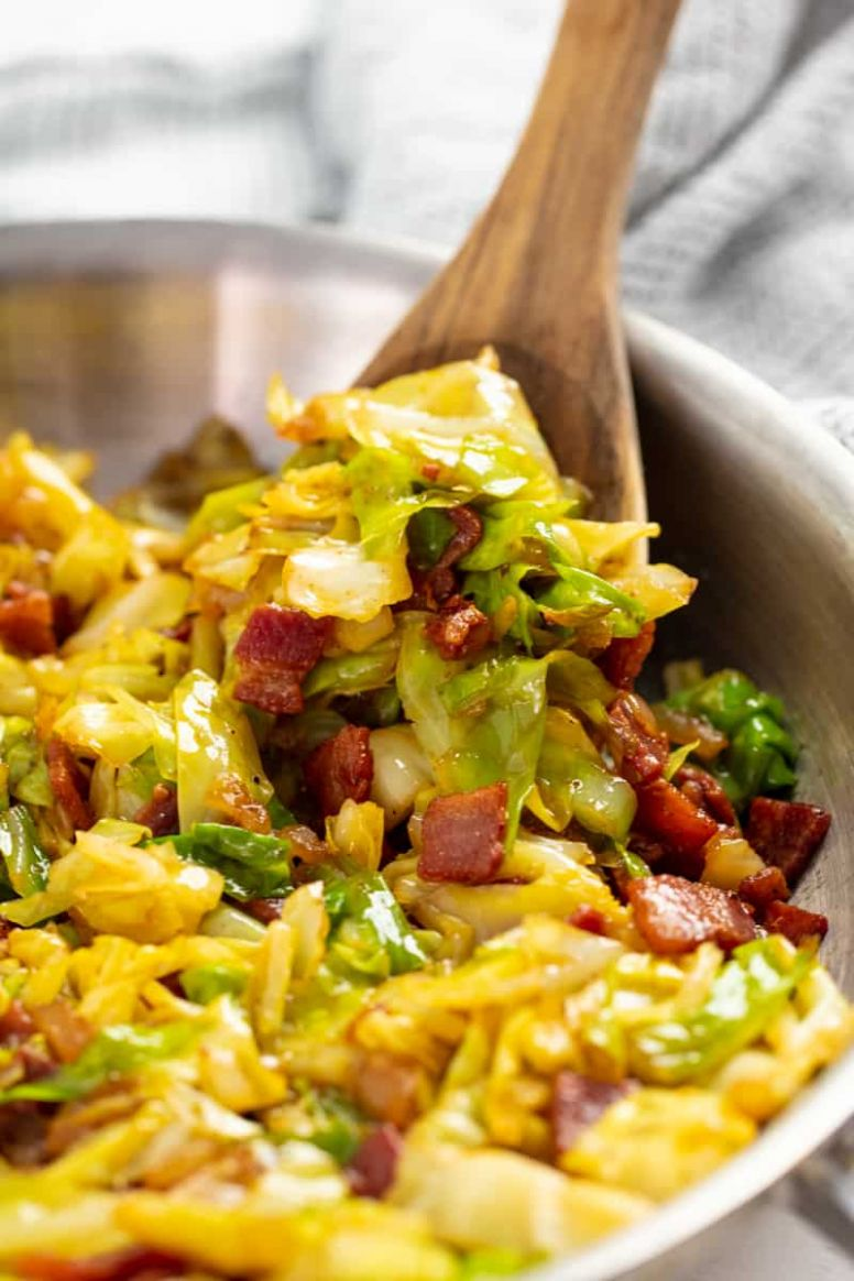 Fried Cabbage - Recipes Cooking Cabbage