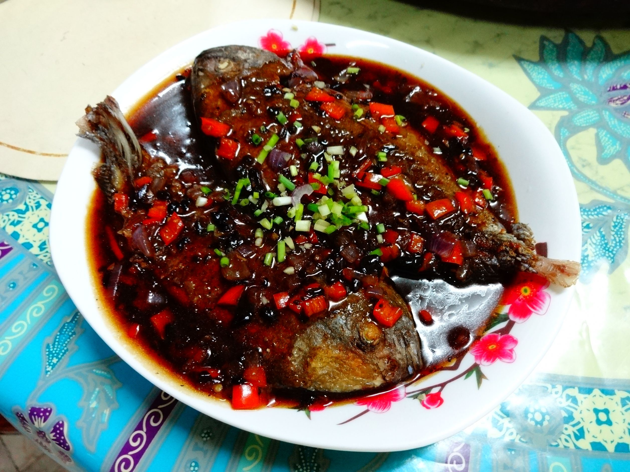 Fried Pompano in Black Bean Sauce | The Foodgasmic Cookbook - Recipes Using Fish Sauce Chinese