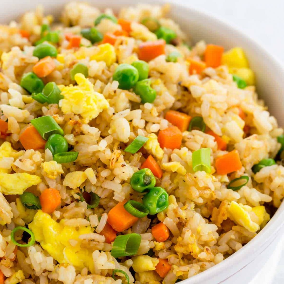 Fried Rice - Easy Recipes With Rice