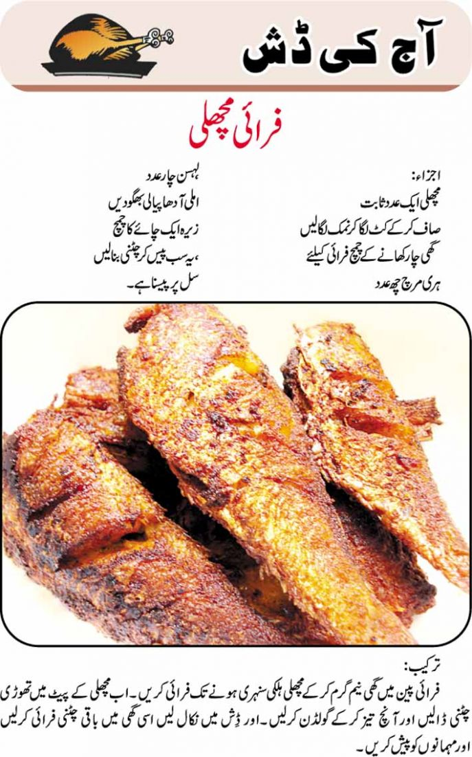Fry Fish - Urdu Planet Forum -Pakistani Urdu Novels and Books ...