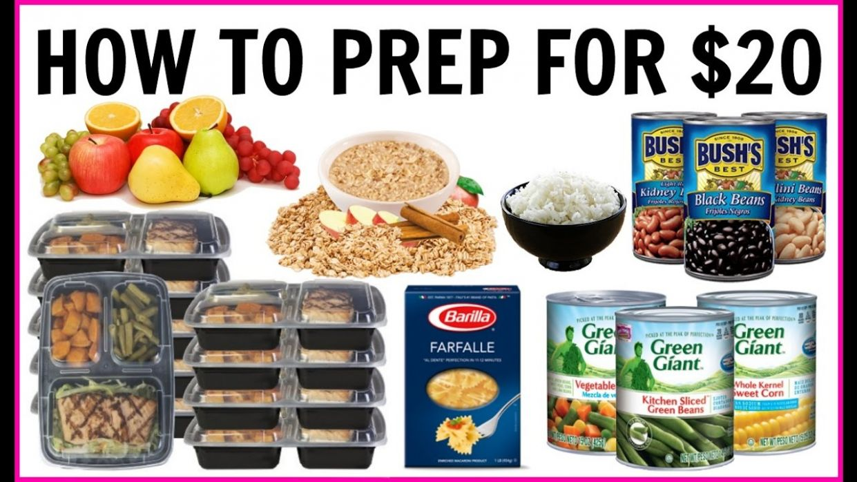 FULL WEEK OF MEAL PREP FOR UNDER $10.10 | MEALS FOR WEIGHT LOSS | Jordan  Cheyenne