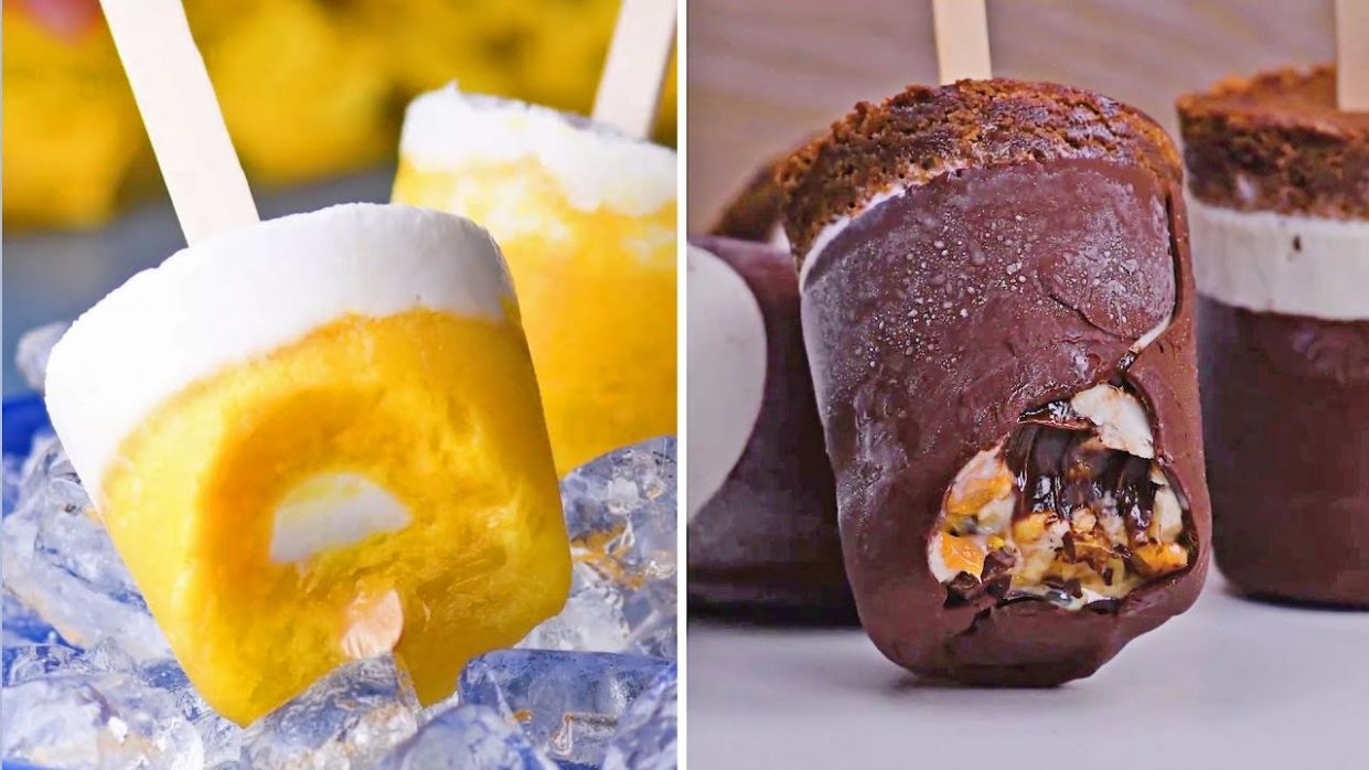 Fun Frozen Treats To Beat The Heat | Ice Cream & Popsicles | Summer 10  Recipes by So Yummy