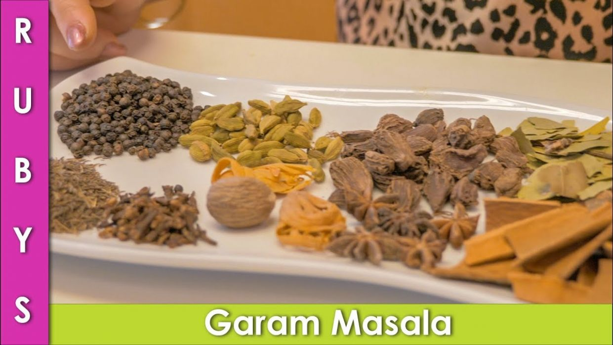 Garam Masala Recipe Asan How to Make Garam Masala in Urdu Hindi - RKK - Urdu Recipes Masala