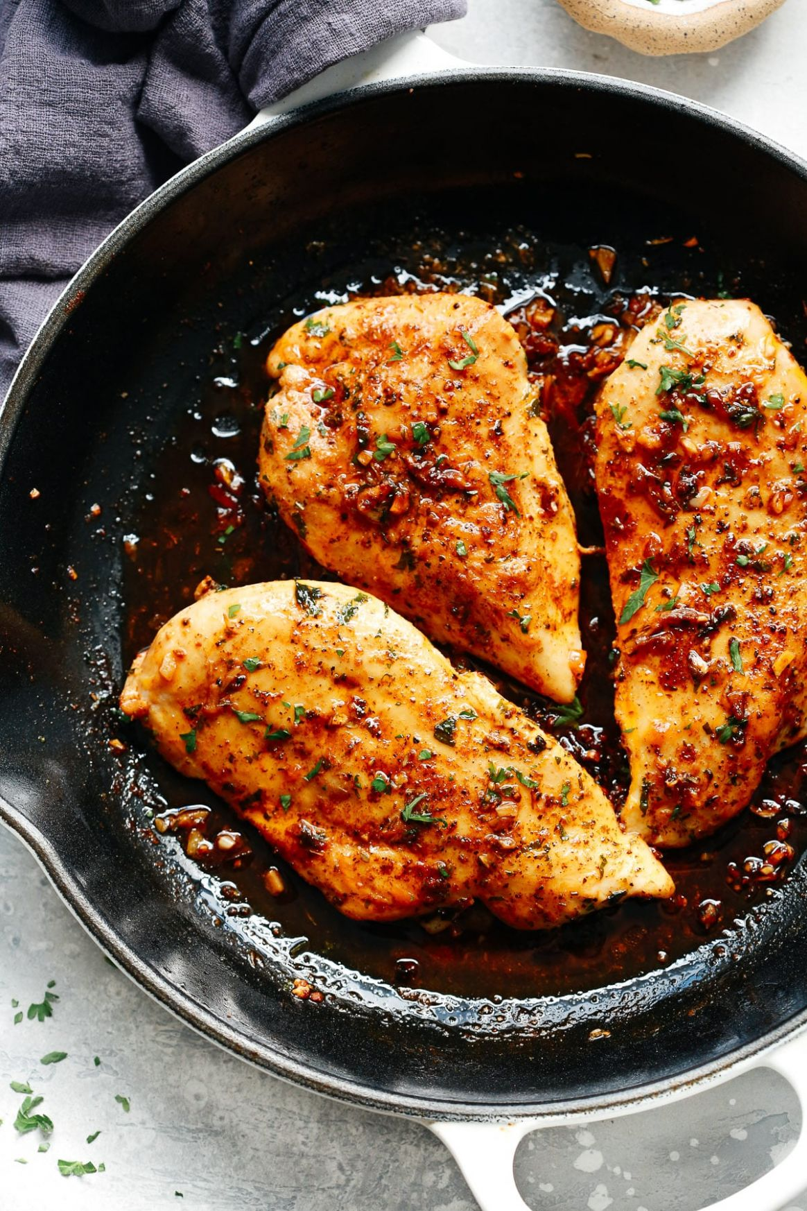 Garlic Butter Baked Chicken Breast - Food Recipes With Chicken Breast