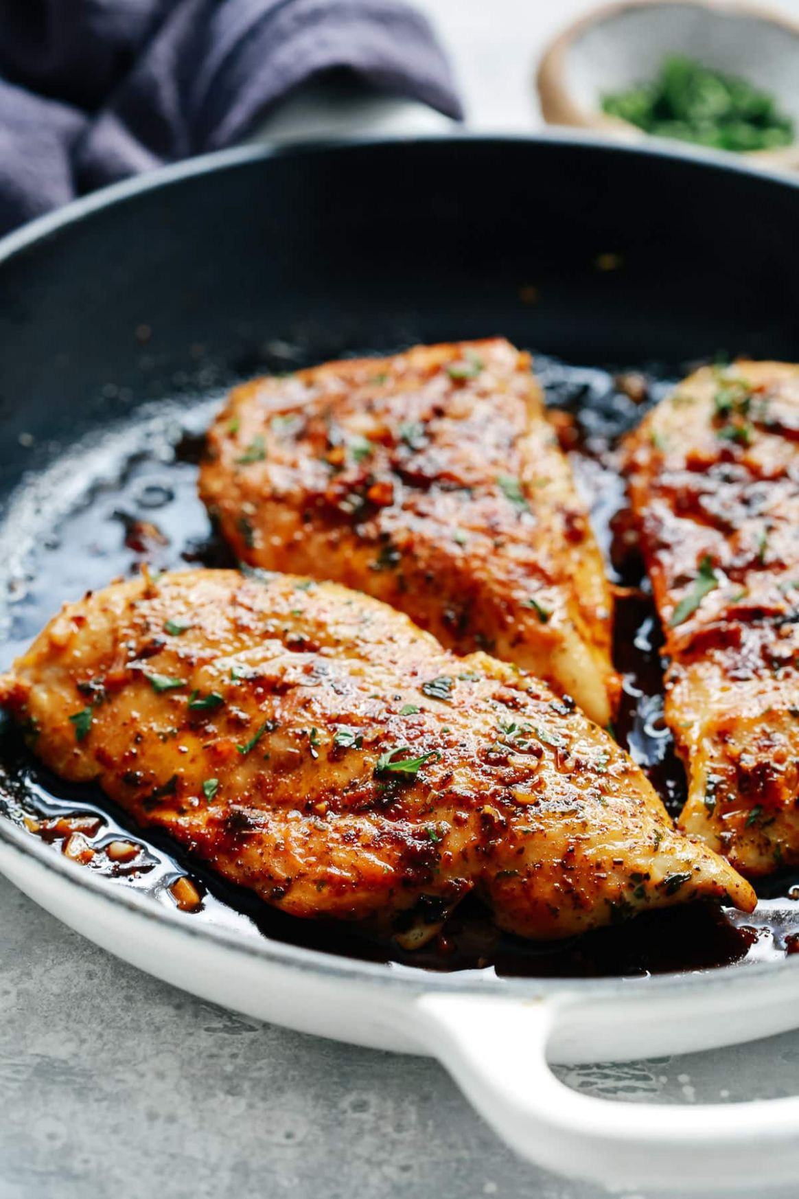 Garlic Butter Baked Chicken Breast (Helathy & Delicious) - Recipe Chicken Breast Garlic Butter