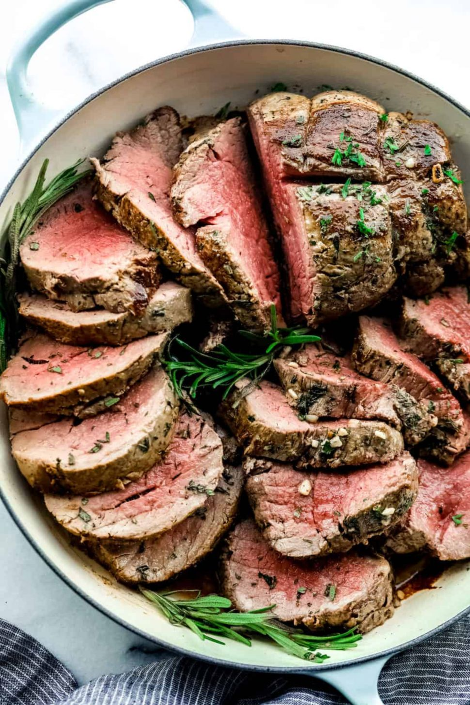 Garlic Herb Butter Beef Tenderloin - Recipes Beef Loin