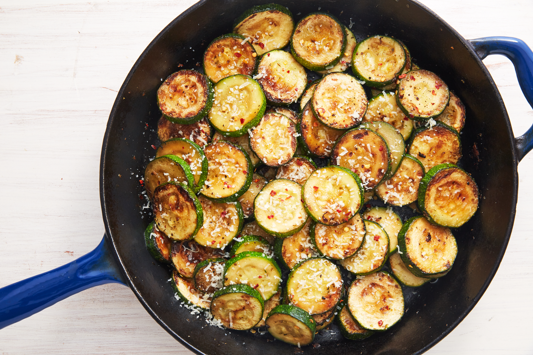Garlic-Parm Zucchini Sauté - Recipes For Cooking Zucchini