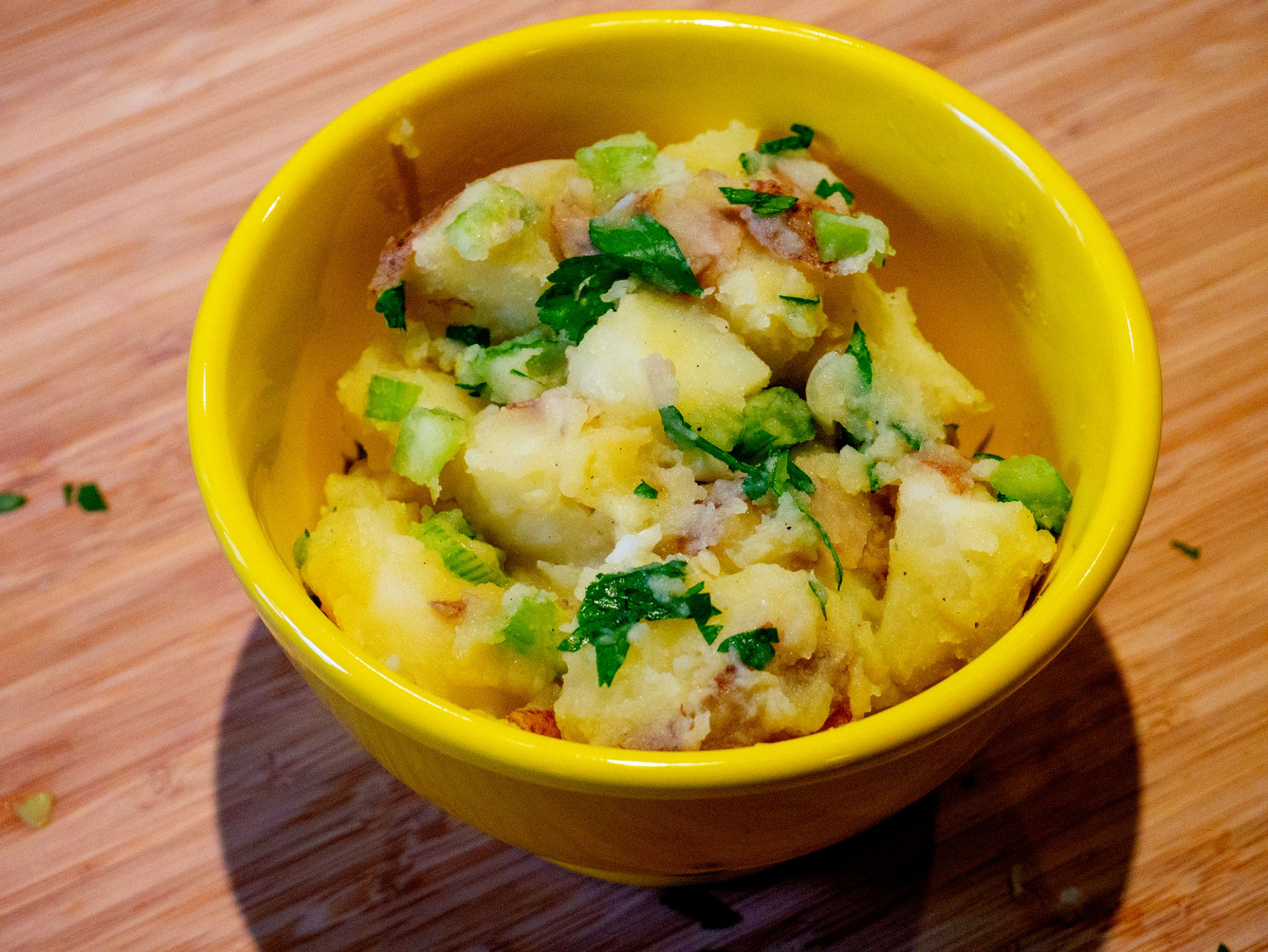 German Potato Salad - Recipe Vegetarian German Potato Salad