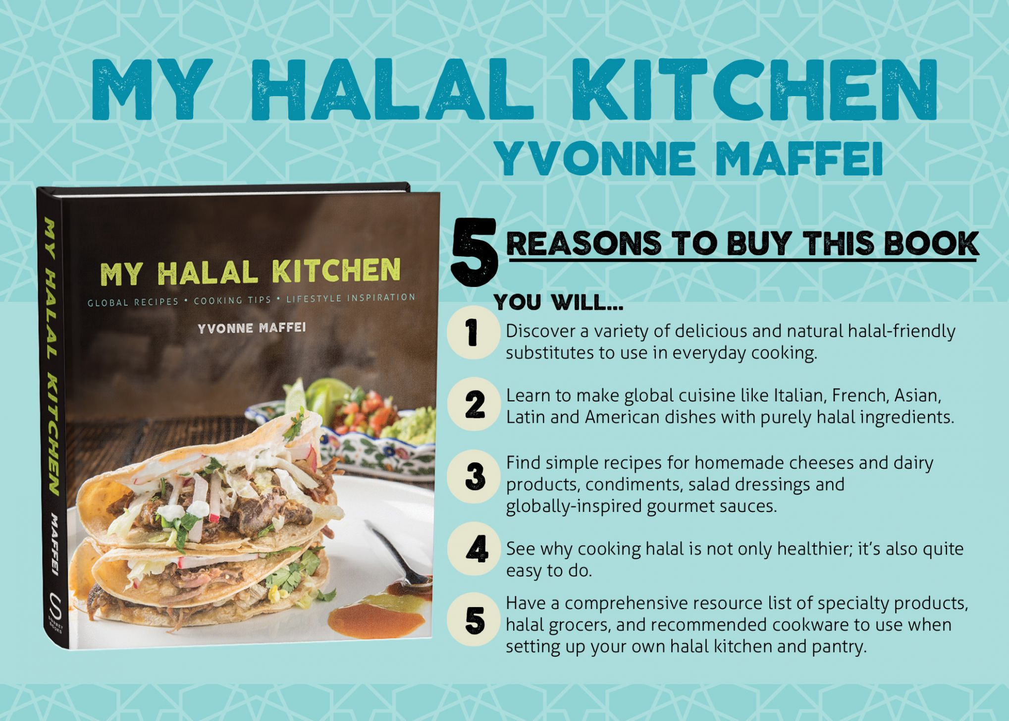 Get a Signed Copy of My Halal Kitchen: Global Recipes, Cooking ...