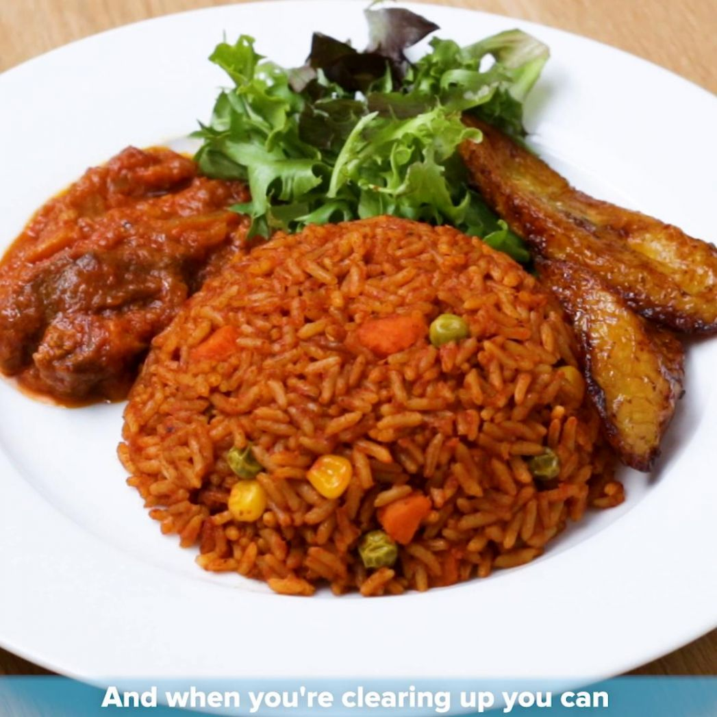 Ghanaian Jollof Rice By Tei Hammond Recipe by Tasty