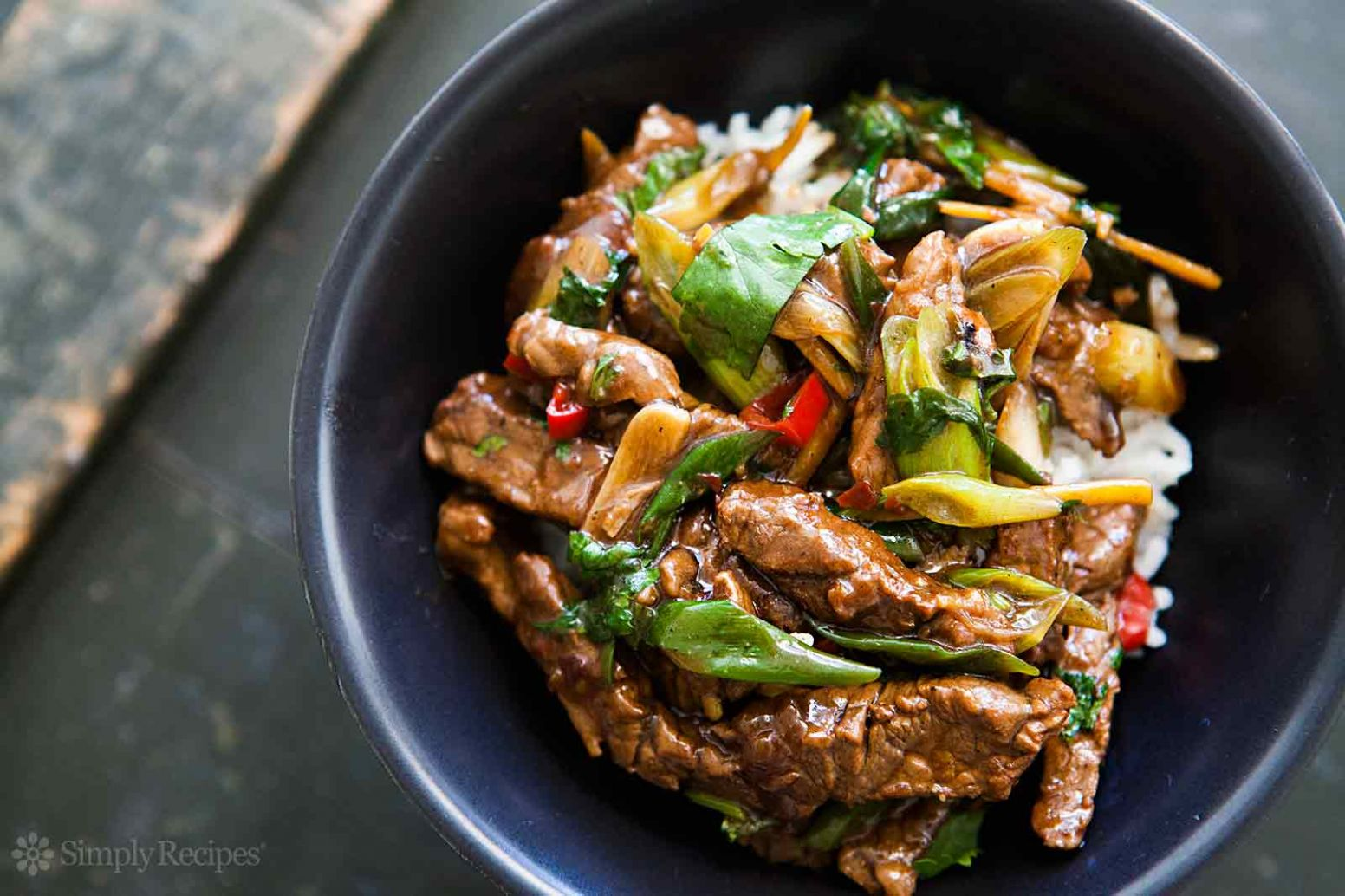 Ginger Beef Stir Fry - Recipes With Beef Strips