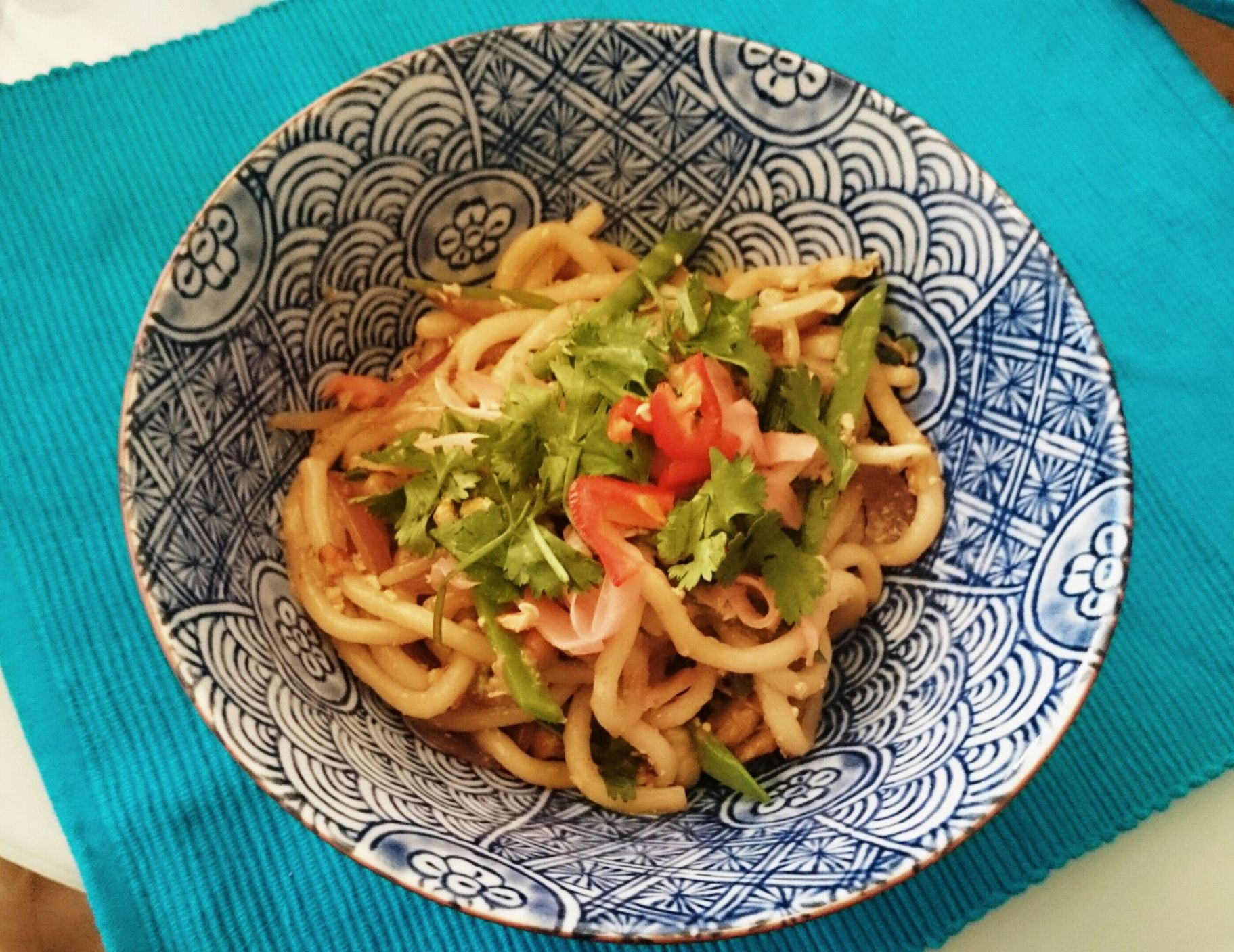 Ginger chicken udon (Wagamama at home!) | Chicken udon, Ginger ..