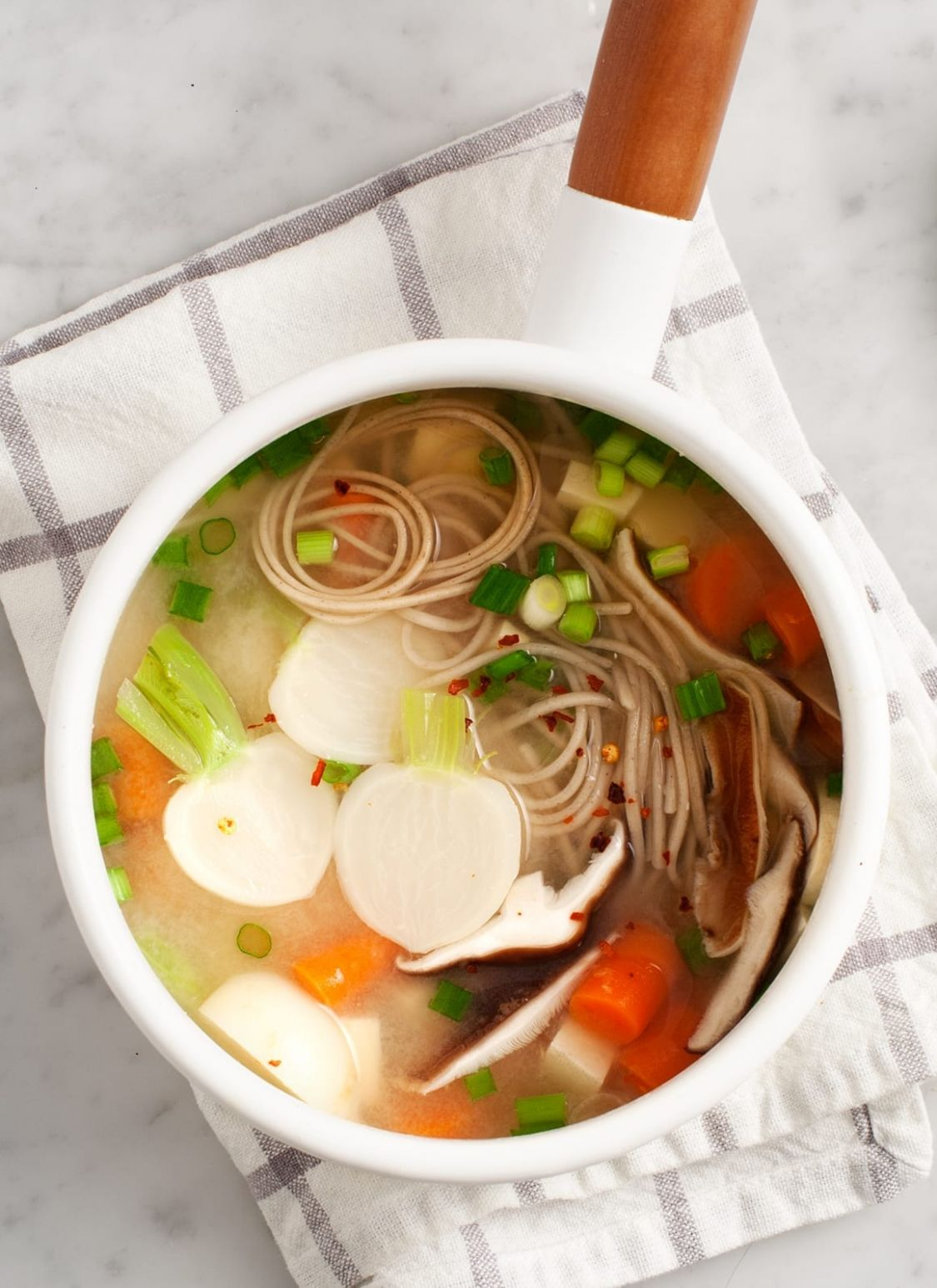 Ginger Miso Soup - Soup Recipes Japanese
