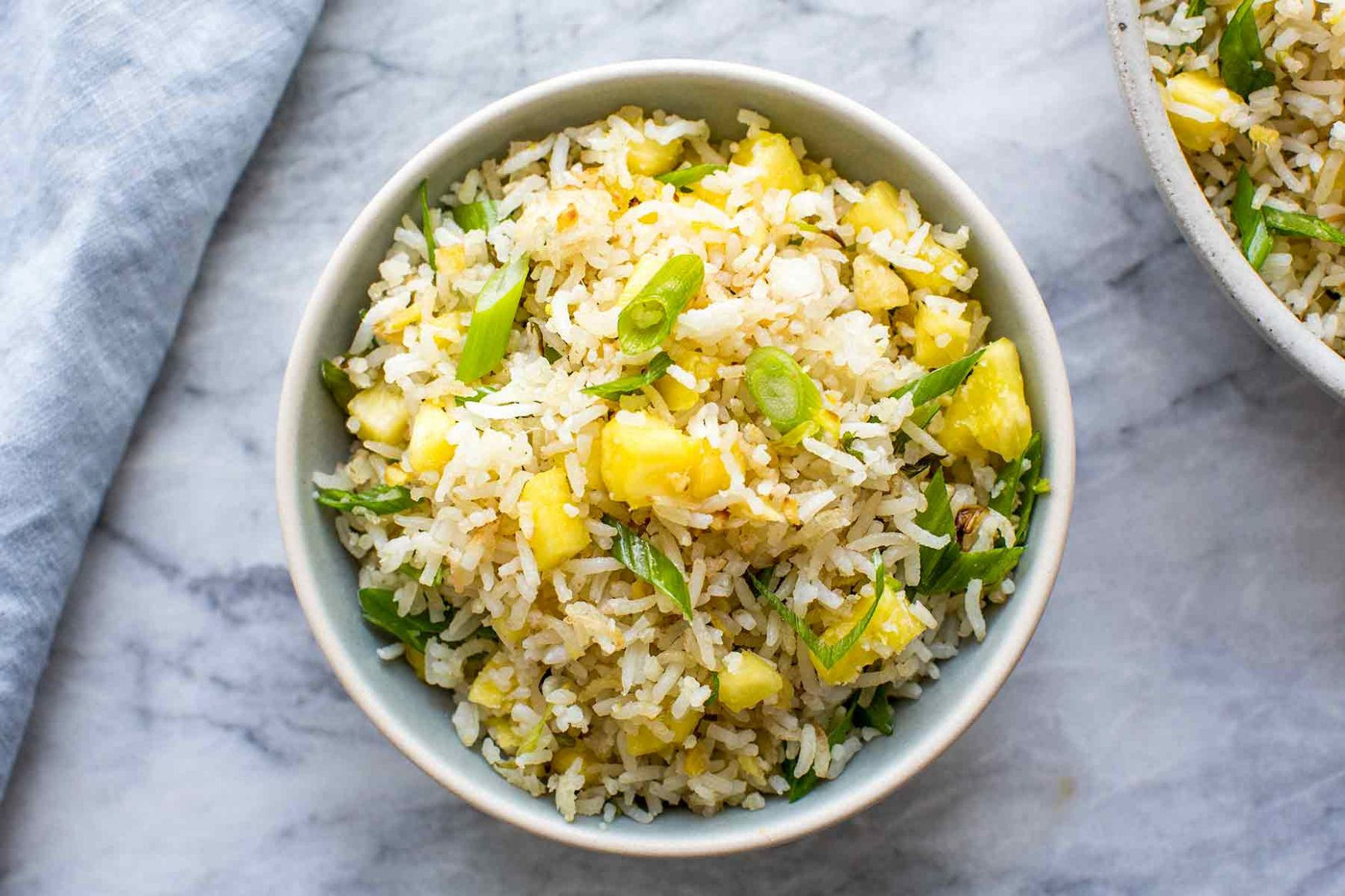 Ginger Pineapple Fried Rice - Recipes Rice With Pineapple