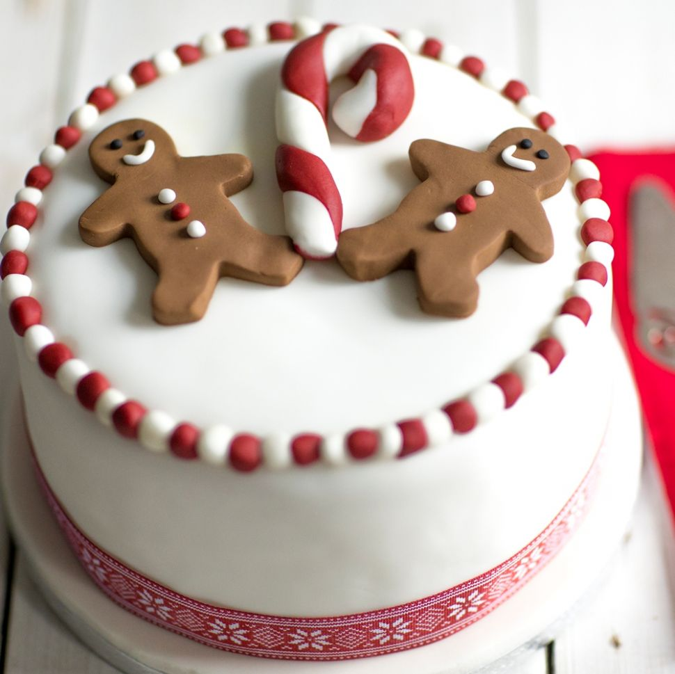 Gingerbread Man Christmas Cake - Recipes Using Xmas Cake
