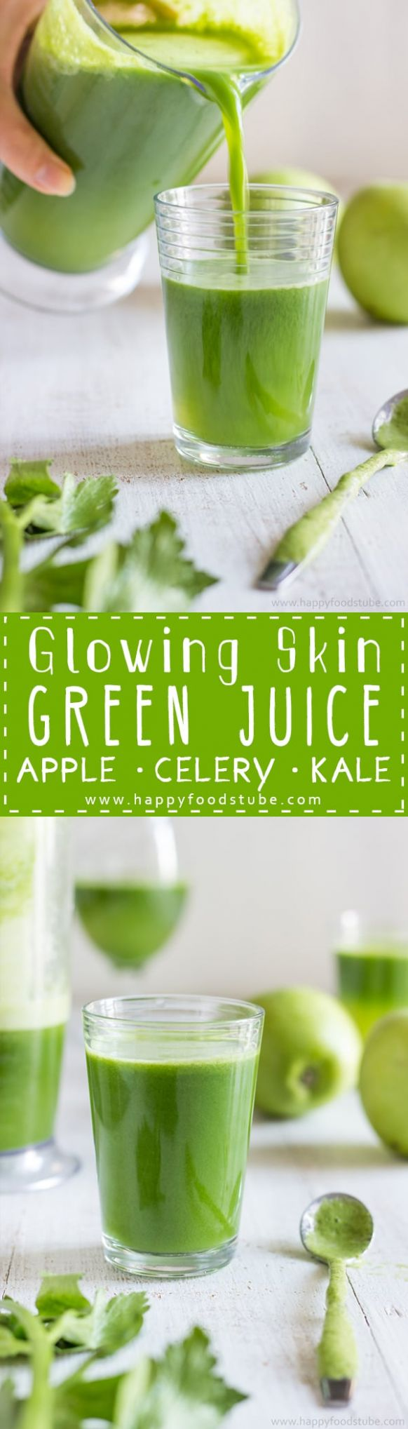 Glowing Skin Green Juice - Simple Juicer Recipes