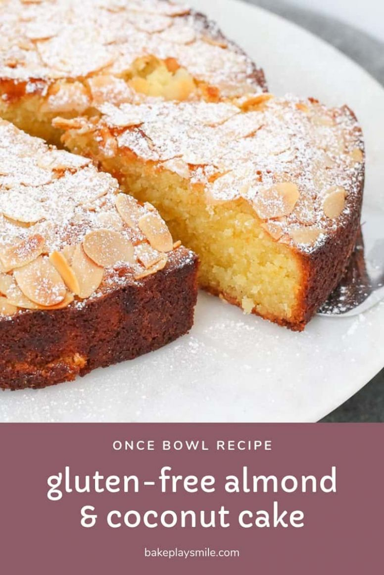 Gluten-Free Almond and Coconut Cake - Bake Play Smile - Recipes Dessert Gluten Free