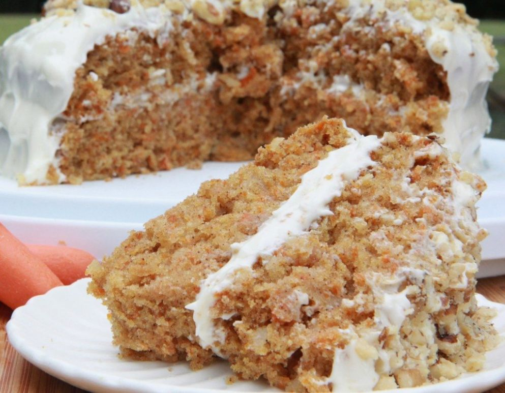 Gluten-free Carrot Cake (Moist and Fluffy) - Recipes Dessert Gluten Free