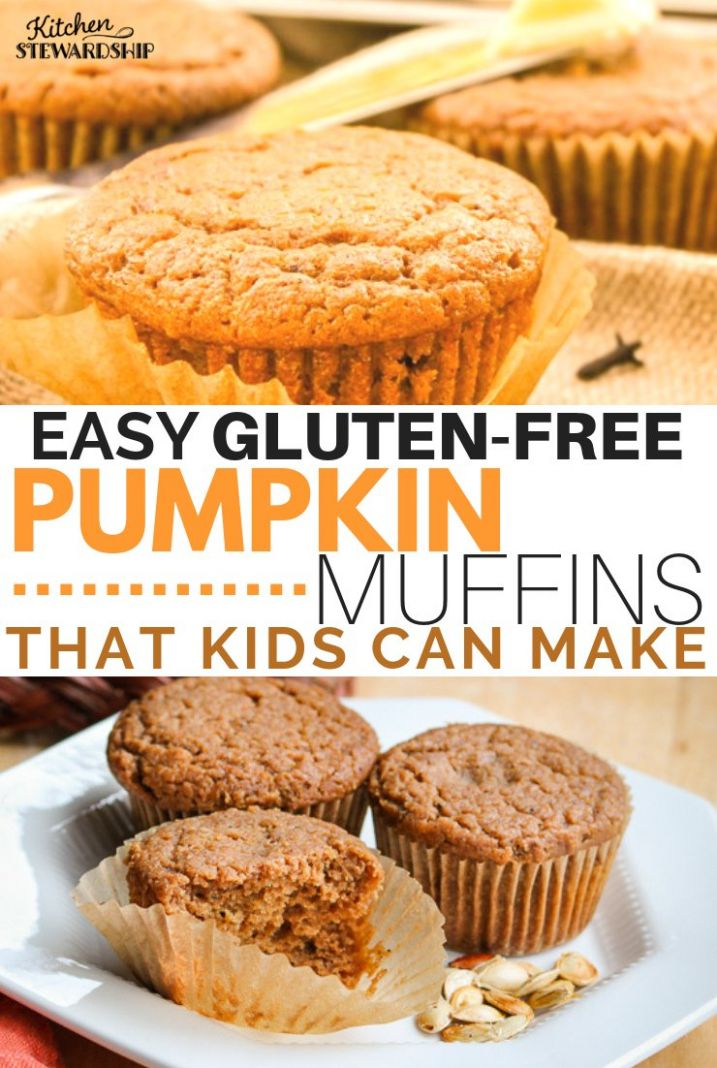 Gluten-Free Pumpkin Muffins - Recipes Egg Free